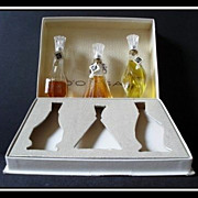 SALE D'ORSAY Treasure Chest presentation of 3 Full Size perfume bottles. SCARCE.