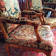 Tapestry Chairs, Regence 18th C