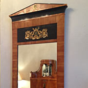 Biedermeier Mirror, Cherry