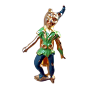 SALE Coro Disney Peter Pan Pin Rare Figural Signed