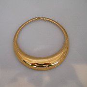 Vintage Fabulous Gold Tone Givenchy Necklace/Collar