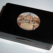 Snuff box with mosaic of Saint Peter