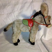 SALE Hermann Original Mohair Donkey in Perfect Condition