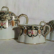 SALE Imperial Nippon Tea Pot, Sugar Bowl and Creamer