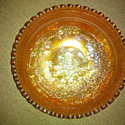 Imperial Glass Windmill Bowl in Excellent Condition