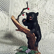 SALE Lenox Woodland Animals Playful Pursuit Black Bear