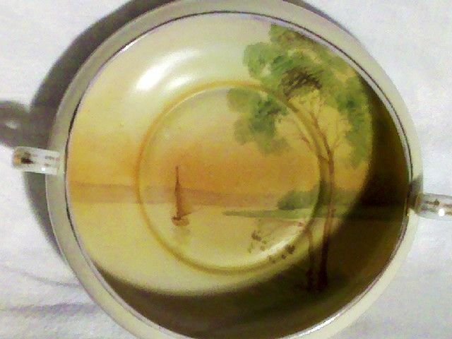 "Nippon 5"" Bowl Handpainted in Excellent Condition"