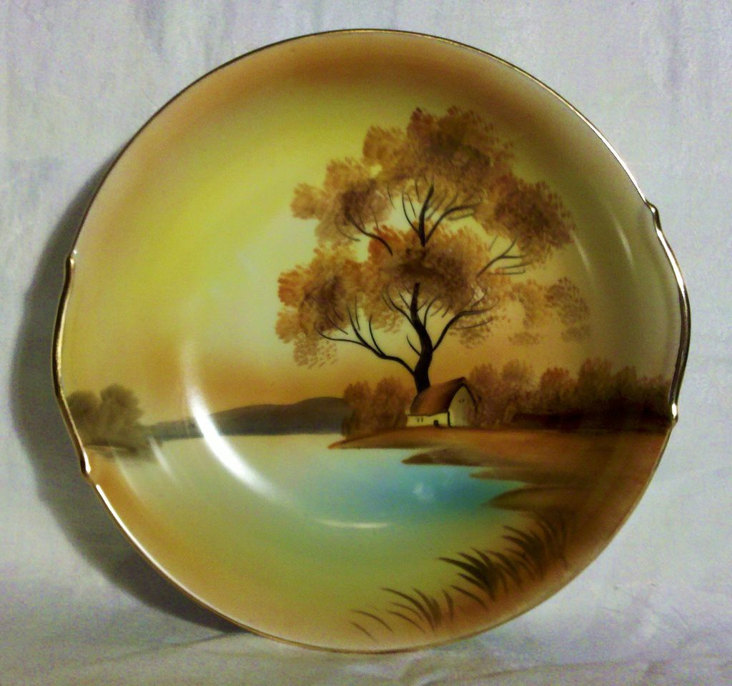 Noritake Tree in the Meadow 8 inch Vegetable Bowl (No.2)