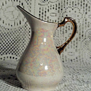 Pearl Lustre Ware Small 4 1/2&quot;  Pitcher in Perfect Condition