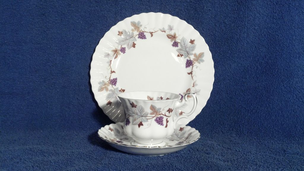 Royal Albert Lorraine Luncheon Plate, Cup and Saucer