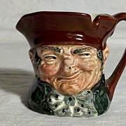 "Royal Doulton Miniature Toby Jug ""Old Charley"" Mark A"