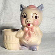 Shawnee Planter Pig with Basket