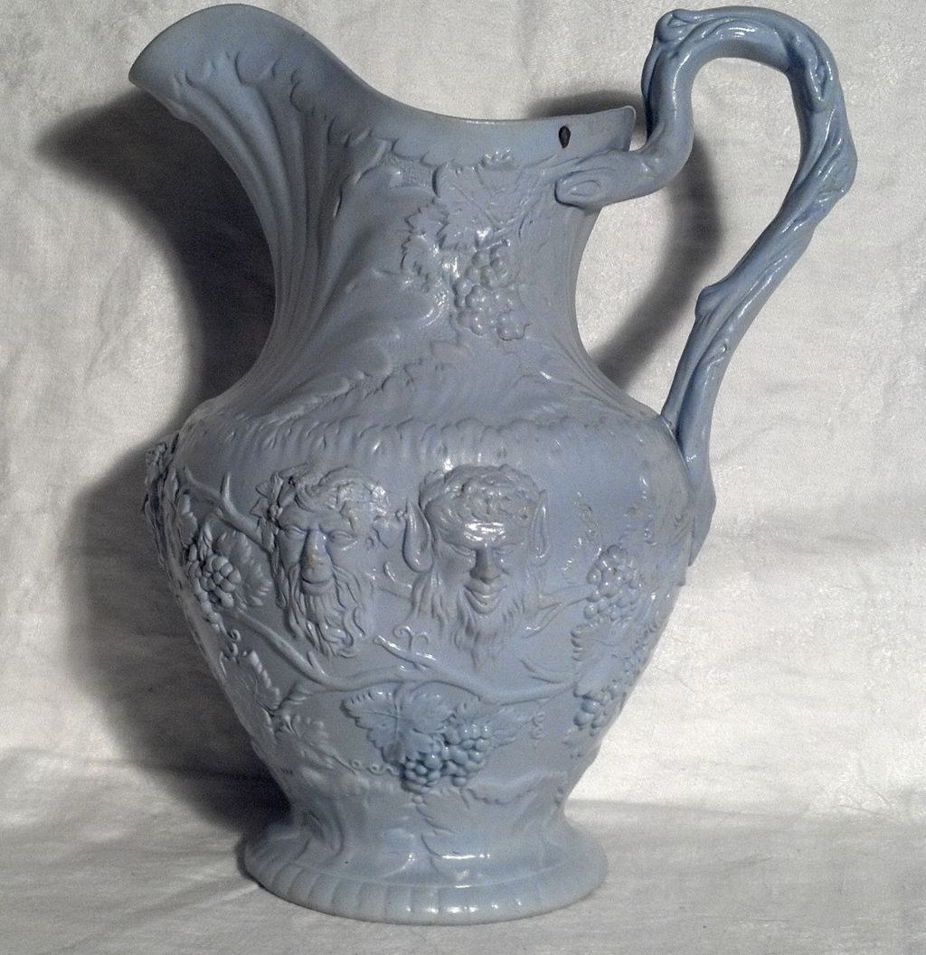 Item ID: T.J. Mayer Parian Pitcher In Shop's Backroom