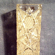 U.S. Glass Star of the East Straw Holder
