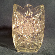 SALE U.S. Glass &quot;Illinois&quot;, &quot;Clarissa&quot;, &quot;Star of the East&quot; Vase