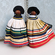 Happy Seminole Indian Pair