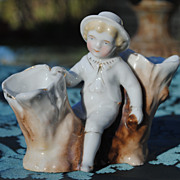 Charming Staffordshire Figure...Circa 1890