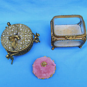 Exquisite.... 3 Ormolu Display Pieces For Your Fashion Ladies