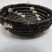 Native American Style Horse Hair Basket