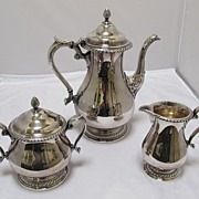 Gorham 3 piece Plated Coffee Service