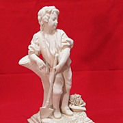 Ceramic Figure Le Printemps [ Spring-time ] Italy 11 inches tall