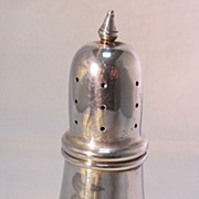 Poole Sterling Salt Pepper Shaker