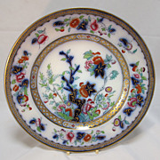Indian Tree Porcelain 19th Century Plate English