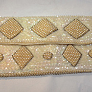 Vintage Beaded/Sequin Evening Purse