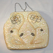 Sequin Beaded Ladies Evening Hand Bag