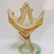 Large Art Glass Vase