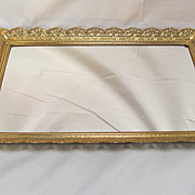Gilt Edged Mirrored  Plateau