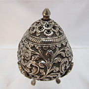 Rare Repose Spice or Salt Shaker Sterling