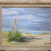White Sands of New Mexico by Swen Hendrickson Painting on Board