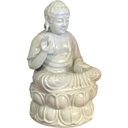 Antique Chinese Blanc De Chine Buddha