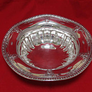 Sterling Silver Bowl Signed with Pattern