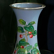 Attractive Japanese Cloisonne Enamel Vase from Ando