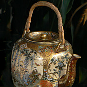 Japanese Satsuma Teapot from Shozan