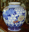 Large Japanese Imari Porcelain Vase - Fukagawa