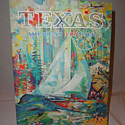 Vintage 1960's Texas Travel Booklet