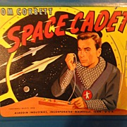 SOLD Tom Corbett Space Cadet Lunch Box 1952. Sci-fi.