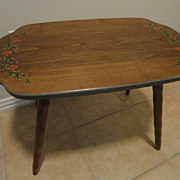 ANRI Child's Hand Painted Wood Table