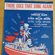 Sheet Music, There Goes That Song Again, World War II