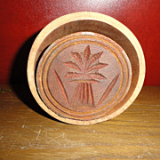 Primitive Wood Butter Mold