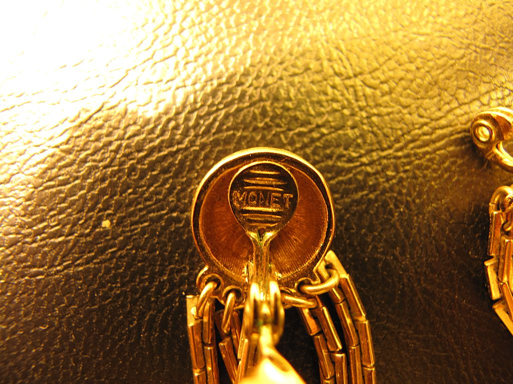 Amazon.com: Monet Gold Tone Large Polish Hoop Earrings: Jewelry