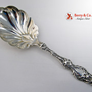 REDUCED Lily Berry Spoon Sterling Silver Whiting 1902