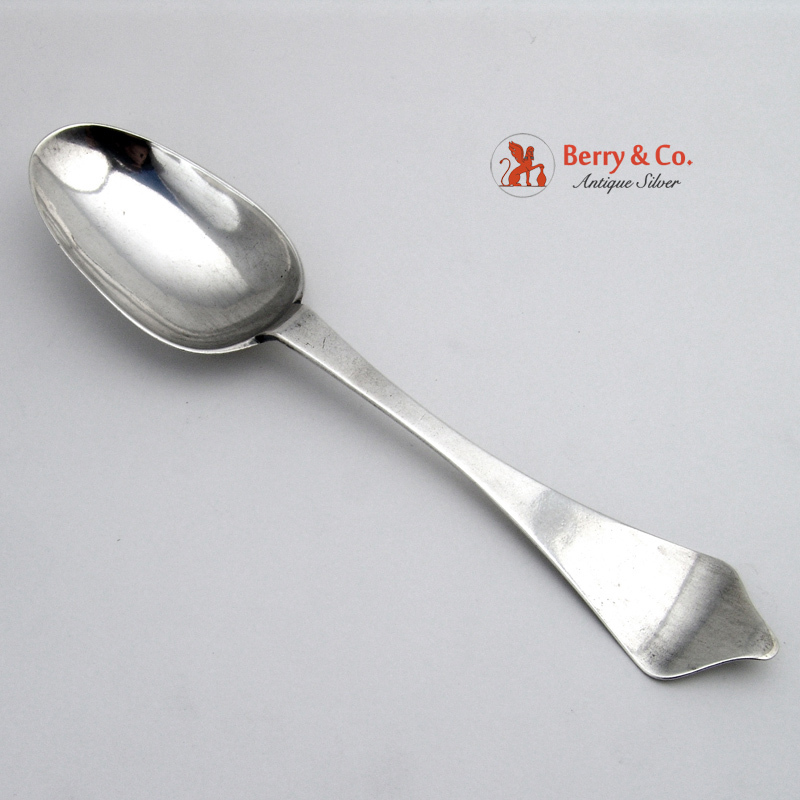 Northern German Scandanavian Tablespoon 1680 - 1720 from berrycom