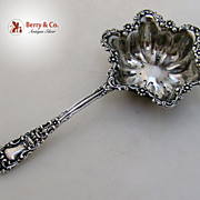 Renaissance Over the Cup Tea Strainer Dominick and Haff 1894 Sterling SIlver No Monogram