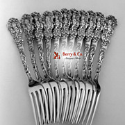 Versailles Dinner Forks 11 Gorham Copyrighted 1888 No Monograms