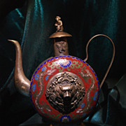 Hand Made Chinese Trinket Tea Pot