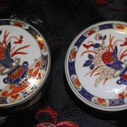 Pair of Imari-Yaki Trinket Boxes